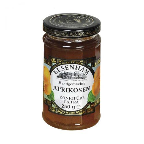 Top Food Feinkost - Elsenham Aprikosen Konfitüre Extra 250g |Handgemachte Aprikosen Konfitüre extra