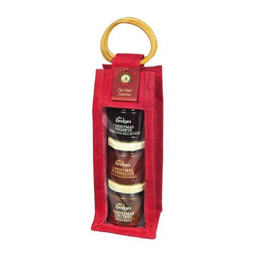 Top Food Feinkost - Mrs. Bridges Christmas Selection Bag  3x113g |Christmas Chutney