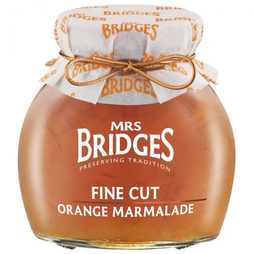 Top Food Feinkost - Mrs Bridges Fine Cut Orange Marmalade 340g | Orange Marmelade mit fein geschnittener Schale