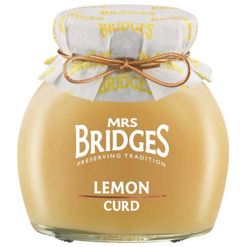 Top Food Feinkost - Mrs Bridges Lemon Curd 340g |Zitronencreme -  Traditioneller englischer Brotaufstrich