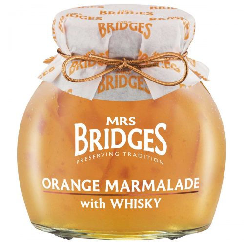 Top Food Feinkost - Mrs Bridges Orange Marmalade with Whisky 340g | Orangen Marmelade mit Whisky verfeinert