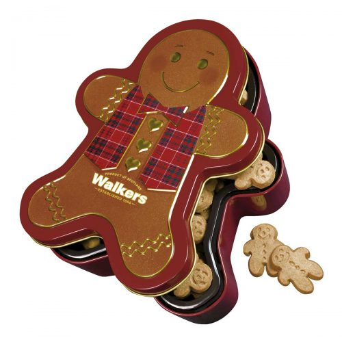"Top Food Feinkost - Walkers Shortbread Ltd. ""Gingerbread Man"" Mini Shortbread 300g - Dose 