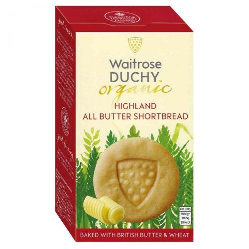 Top Food Feinkost - Waitrose Duchy Organic Highland Shortbread - BIO 150g |Bio-Buttergebäck mit frischer Butter