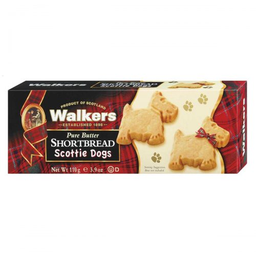 "Top Food Feinkost - Walkers Shortbread Ltd. Scottie Dogs Shortbread 110g | Shortbread in Form kleiner ""Scottie Dogs"""