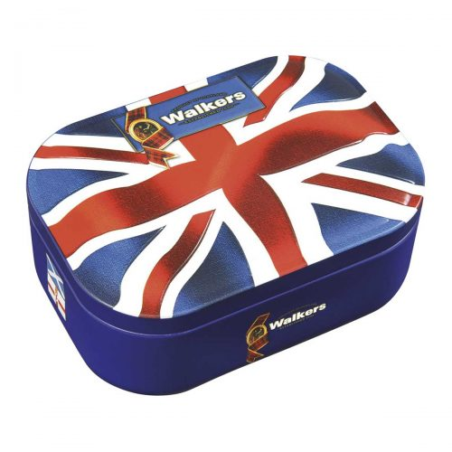 "Top Food Feinkost - Walkers Shortbread Ltd. Union Jack Shortbread 120g - Dose | Shortbread in ""Union Jack"" Form in einer attraktiven Geschenkdose mit der englischen Flagge"