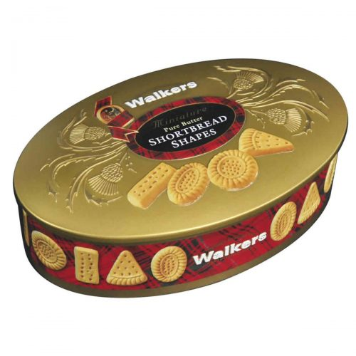 Top Food Feinkost - Walkers Shortbread Ltd. Oval Gold Shortbread 175g - Dose | Edle