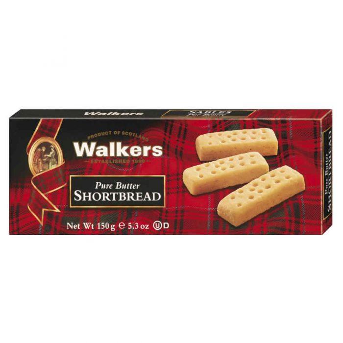 Top Food Feinkost - Walkers Shortbread Ltd. Shortbread Fingers 150g |Schottisches Buttergebäck in der klassischen Fingers Form
