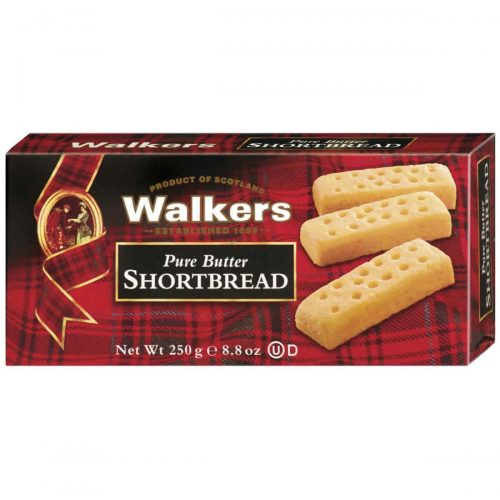 Top Food Feinkost - Walkers Shortbread Ltd. Shortbread Fingers 250g | Schottisches Buttergebäck in der klassischen Fingers Form