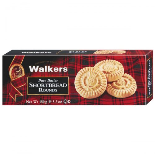 Top Food Feinkost - Walkers Shortbread Ltd. Shortbread Rounds 150g | Schottisches Buttergebäck