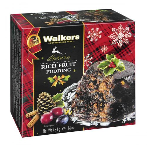 "Top Food Feinkost - Walkers Shortbread Ltd. Luxury Rich Fruit Pudding 454g | Original schottischer Weihnachtspudding ""Plum Pudding"""