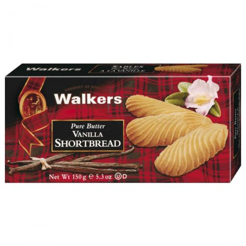 Top Food Feinkost - Walkers Shortbread Ltd. Vanilla Shortbread 150g | Schottisches Buttergebäck mit Vanille