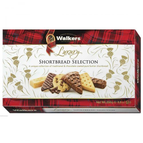 Top Food Feinkost - Walkers Shortbread Ltd. Luxury Shortbread Selection 250g | Gebäckmischung