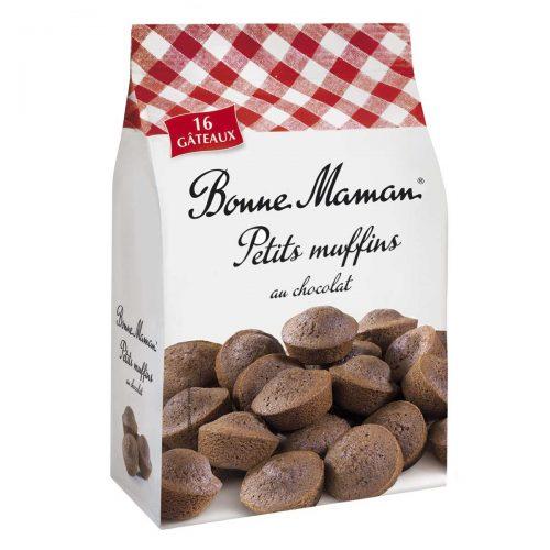 Top Food Feinkost - Bonne Maman Petits muffins au chocolat 235g |Kleine französische Schokoladen-Muffins mit Butter und frischen Eiern gebacken