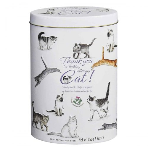 "Top Food Feinkost - Gardiners of Scotland ""Cats"" Vanilla Fudge  250g - Dose 