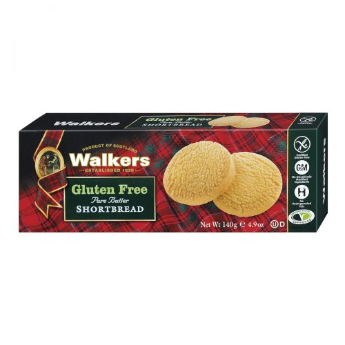 Top Food Feinkost - Walkers Shortbread Ltd. Gluten free Rounds 140g | Shortbread Rounds ohne Gluten