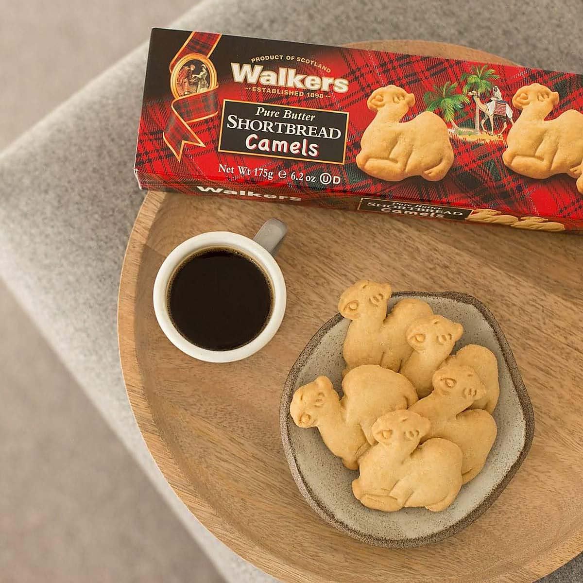 Walkers Shortbread Camels internationale Feinkost Topfood