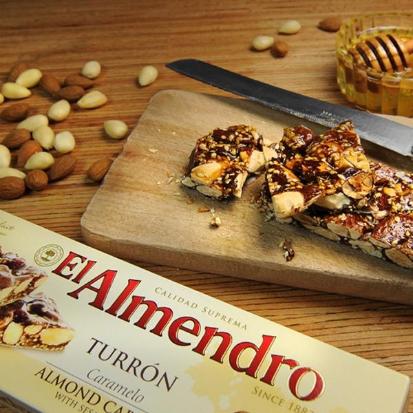 Top Food Feinkost - El Almendro Turron Caramelo