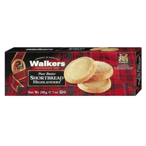 Top Food Feinkost - Walkers Shortbread Ltd. Shortbread Highlanders 200g | Shortbread Highlanders mit knusprigem Demerara Zuckerrand