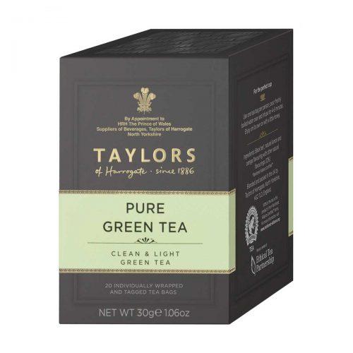 Top Food Feinkost - Taylors of Harrogate Pure Green Tea 30 g - 20 Aufgussbeutel |Sencha Grüntee