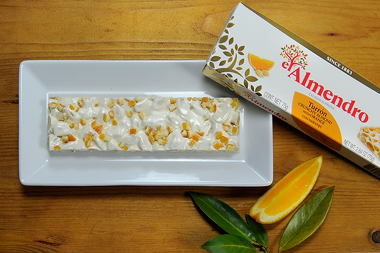 Top Food Feinkost - El Almendro Turrón Naranja