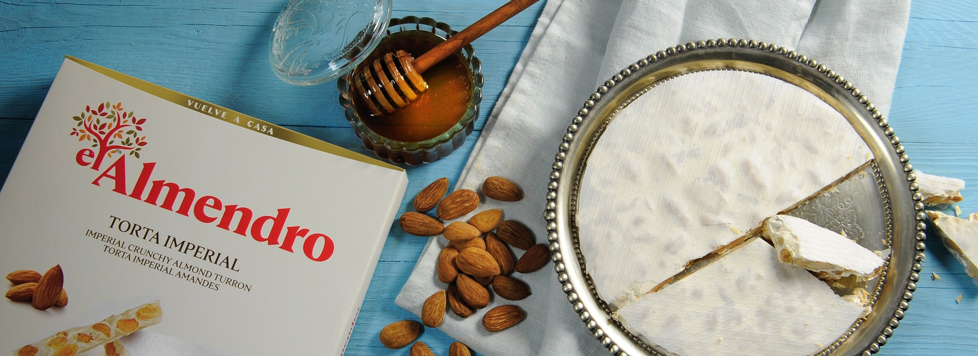 Top Food Feinkost - El Almendro - Turrón Torta Imperial