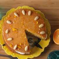Top Food Feinkost - Mrs Bridges Orange Curd Cake