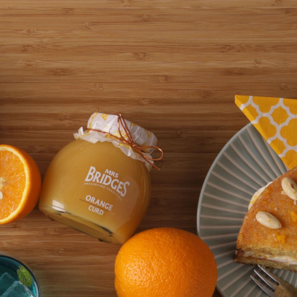 Top Food Feinkost - Mrs Bridges Orange Curd Cake