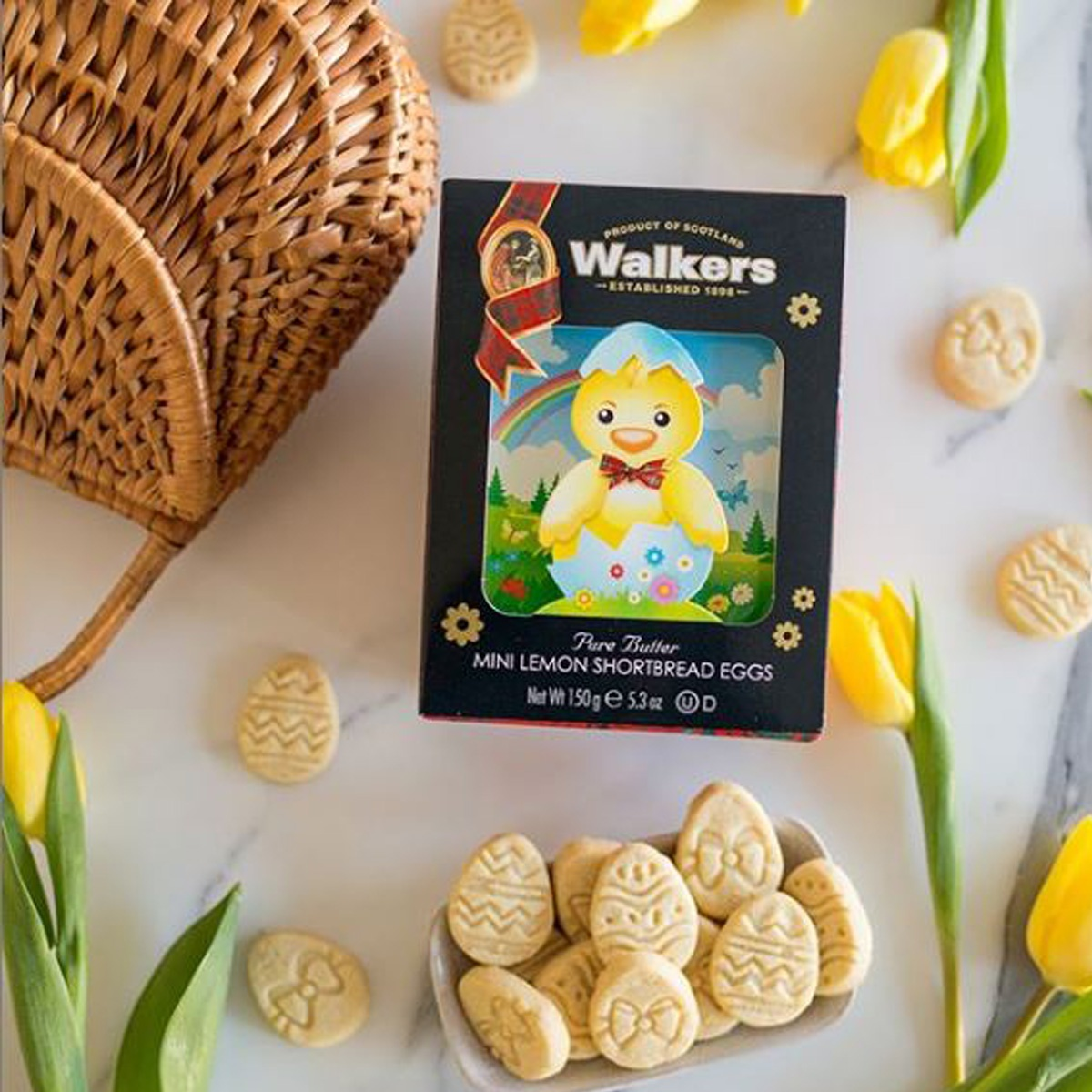 Top Food Feinkost - Walkers Shortbread - Ostern