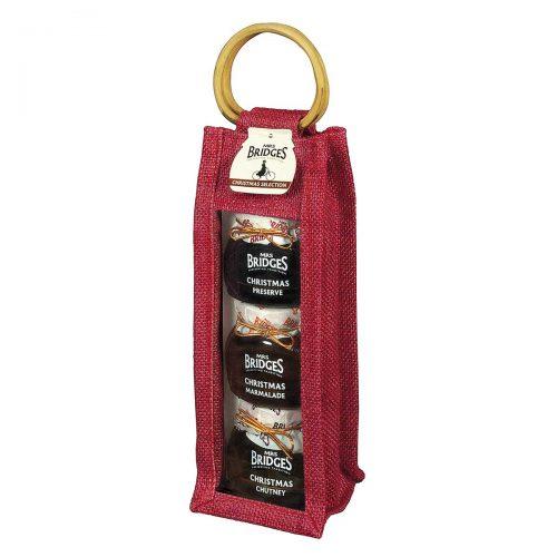 Top Food Feinkost - Mrs Bridges Christmas Selection Bag  3x113g |Christmas Chutney