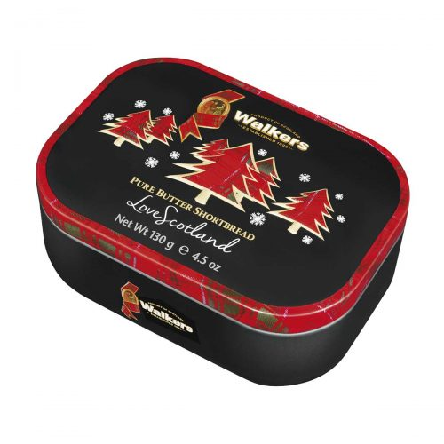 "Top Food Feinkost - Walkers Shortbread Ltd. Keepsake ""Christmas Trees"" Shortbread Rounds 130g - Dose 
